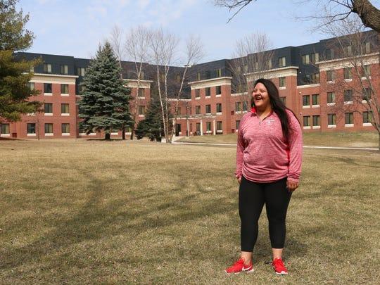 Giselle Sancen Valero is a junior at Grand View University