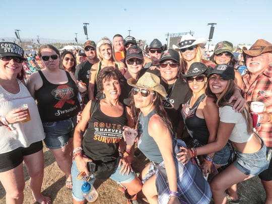 Hundreds of survivors of last fall's Route 91 Harvest festival shooting in Las Vegas turned out for Stagecoach, the first major country music festival on the West Coast since the attack.