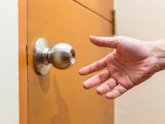 UVM Medical Center - Handing Reaching for Door Knob