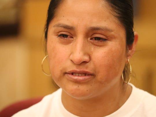 Rita Hernandez, Diana Alvarez's mother, spoke through