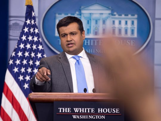 White House principal deputy press secretary Raj Shah