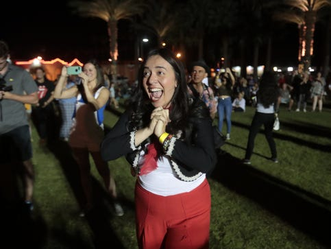 Giselle Woo and the Night Owls prove they're the hottest act in the desert