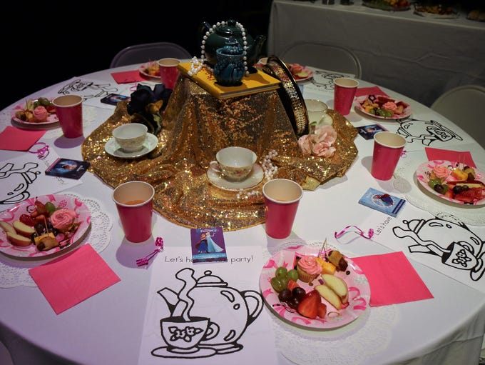 The Princess Tea Party at The Dixie was held, Saturday,