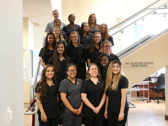 Seventeen students from Siegel and Stewarts Creek high schools were pinned Thursday, May 4 to signal their completion of the certified nursing assistant program.