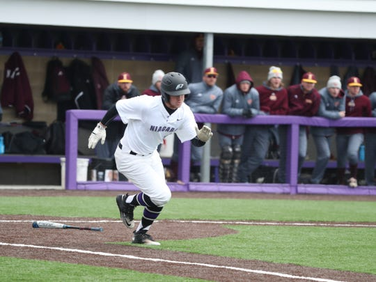 Greg Cullen of Niagara leads the nation in hitting