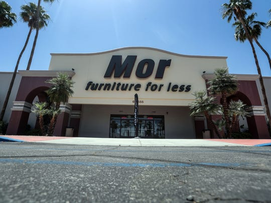 Mor Furniture story in Cathedral City on Thursday, May 10, 2018.