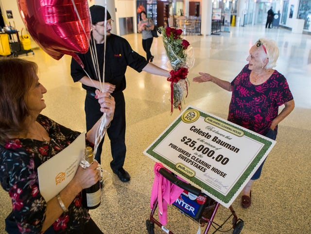 Corpus Christi woman receives check from Publishers Clearing House