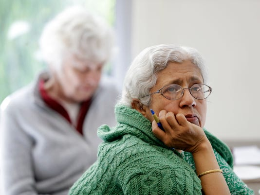 AP SENIOR CITIZENS BULLYING A USA CA