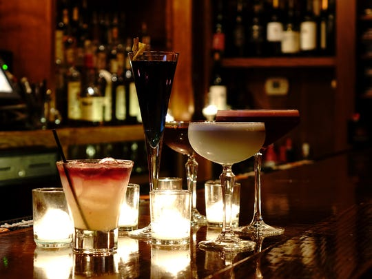 Cocktails at Verve.