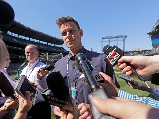 Mariners general manager Jerry Dipoto talks about the
