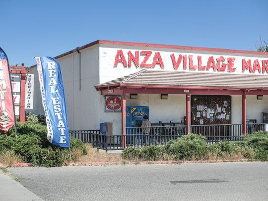 Anza Village Market on Saturday, May 12, 2018 in Anza.
