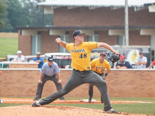 Tyler Mitzel worked 6.2 strong innings in the first