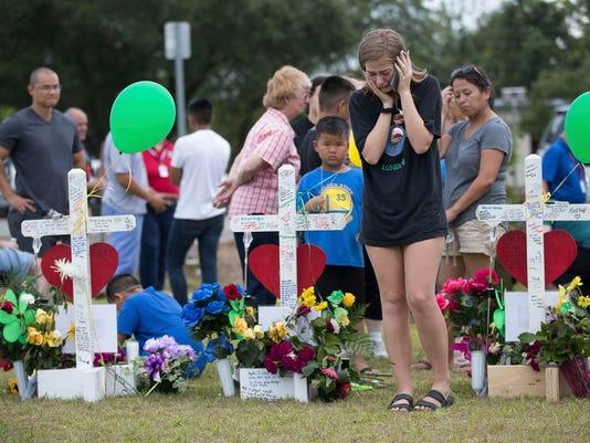 USP NEWS: SANTA FE HIGH SCHOOL SHOOTING A USA TX