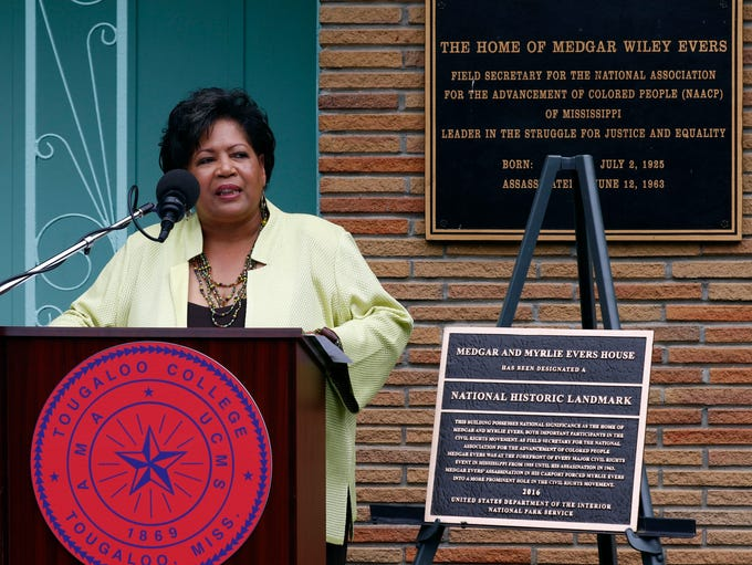 Reena Evers-Everett, daughter of civil rights leaders
