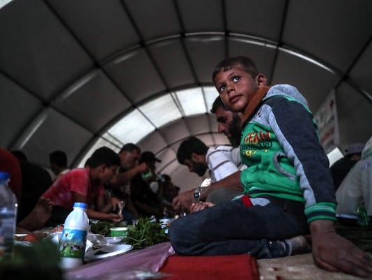 EPA SYRIA RAMADAN ISLAM BELIEF REL REFUGEES BELIEF (FAITH) SYR A'