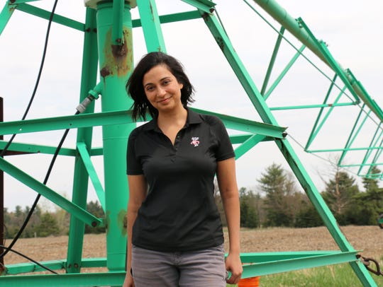 Mallika Nocco studied groundwater recharge at the Isherwood
