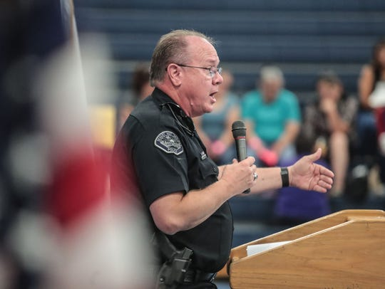 Desert Hot Springs police Chief Dale Mondary talks