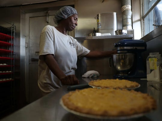 "Christine Yelling from the Farmers Market in Fort Myers and formerly from Flora and Ella's in LaBelle has been making pies for decades. Some say the pies are ""life changing."""