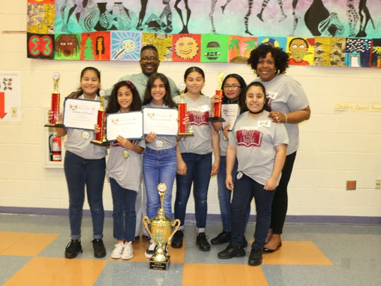 Fifth grader from Emerson School regain the Grand Trophy