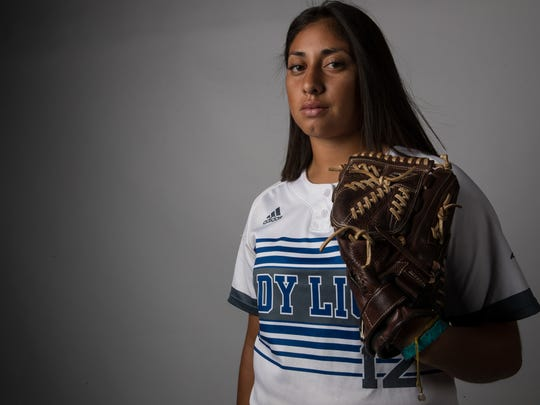 All-South Texas Softball Most Valuable Player Saidi Castillo from Santa Gertrudis Academy