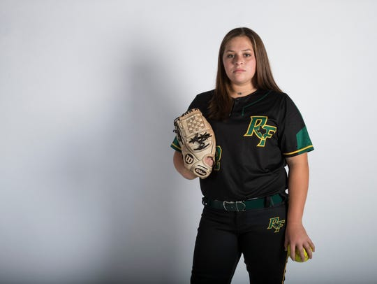 All-South Texas Softball Newcomer of the Year, Siarah