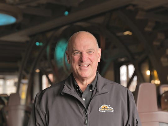 A recent photo of Brad Thomas, the Herschend Family Entertainment official who oversees Silver Dollar City, near Branson.
