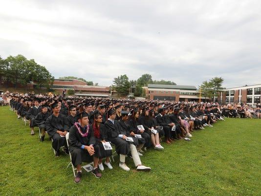 Mamaroneck High School graduation