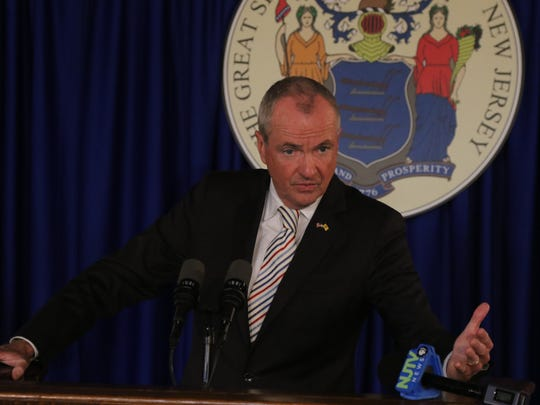 Governor Phil Murphy has a press conference on the budget impasse.