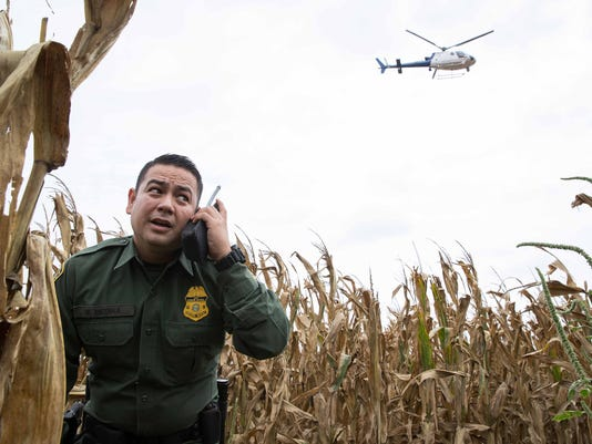 USP NEWS: U.S. BORDER PATROL S A OTH USA TX