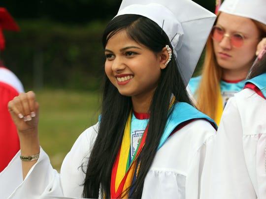 North Rockland High School held it's 2018 graduation June 22, 2018.