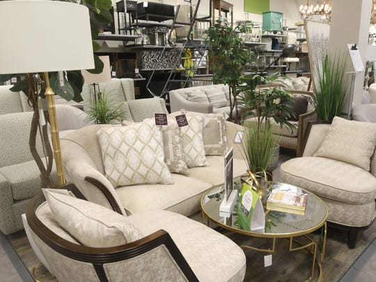 Sofas and chairs for sale at Homesense.