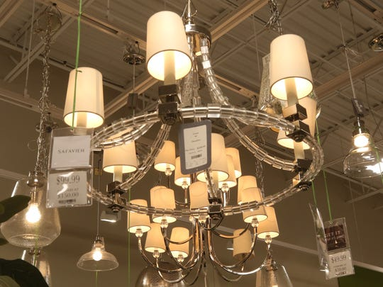 Inside a Homesense location in New Jersey.