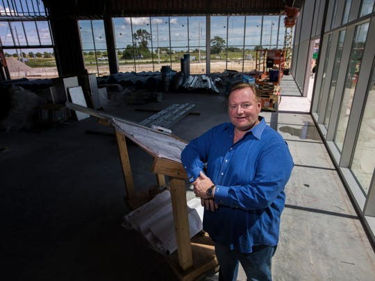 Jay Ganzi, 51, is the new general manager and part owner of the Cape Coral Chrysler Dodge Jeep Ram dealership  currently under construction on Pine Island Road.