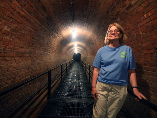 Sara Kelsey of the Friends of the Old Croton Aqueduct,
