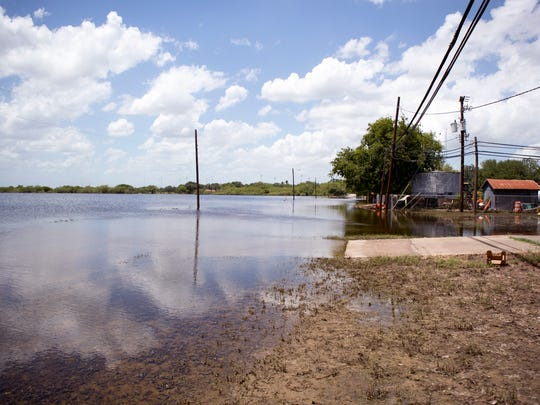 Premont and Jim Wells County received 21 inches of rain during heavy rains beginning on June 19, 2018. As the rains continued to fall, 21 inches of rain fell in the area, which was the most the area has seen since Hurricane Beulah dumped 24 inches dumped 24 inches of rain on the community in one day, said Emede Garcia, Jim Wells County Commissioner Pct. 4. Premont and Jim Wells County have not received a disaster designation from the state, they are in the process of gathering data in hopes of getting the designation. Water continued to be at a high level on Thursday, June 28, 2018.