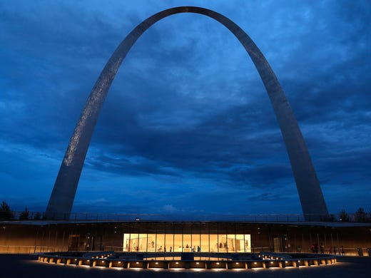 A new entrance to the Gateway Arch is shown on June