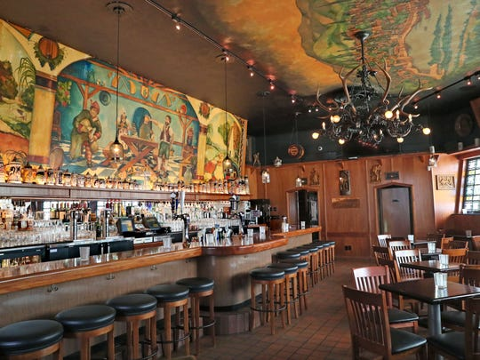 Von Trier, 2235 N. Farwell Ave. at E. North Ave., freshened up the bar this year with a bit of remodeling. But it kept the Germanic look.