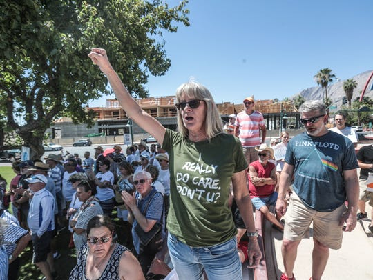 Hundreds attend Palm Springs Keep Families Together