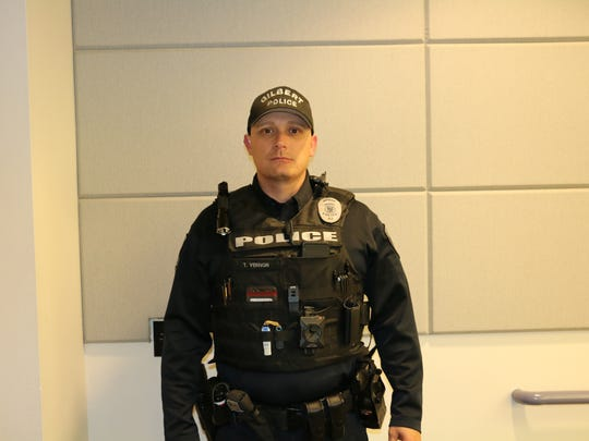 Officer Troy Vernon.
