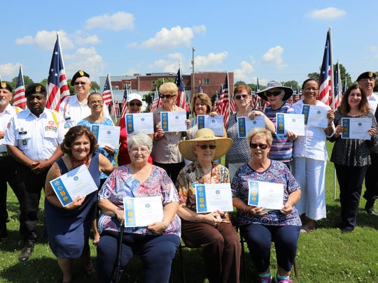 Spouses of veterans that served in the military during