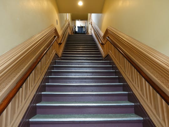 The 55 steps to the Starlight Room at the Rose Theater
