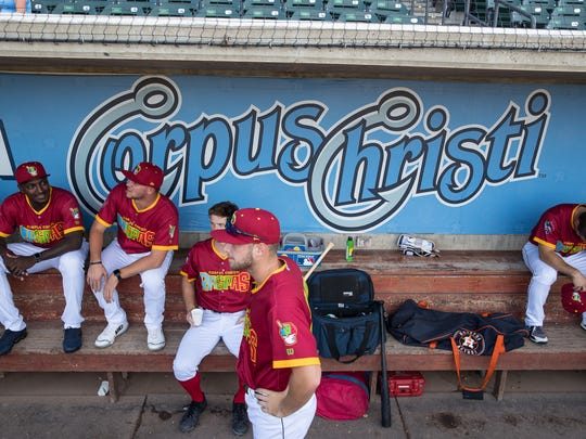 The Hooks become the Raspas Kaylen at Whataburger Field