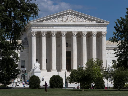 The Supreme Court building is seen in Washington in