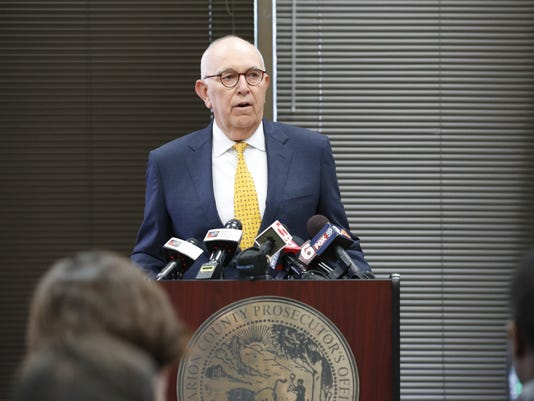 Marion County Prosecutor Terry Curry announces he will seek a special prosecutor in the investigation of groping allegations against Indiana Attorney General Curtis Hill.