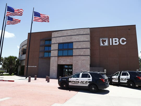 Corpus Christi police responded to a bank robbery at