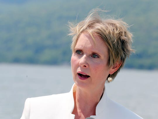 Gubernatorial candidate Cynthia Nixon speaks about