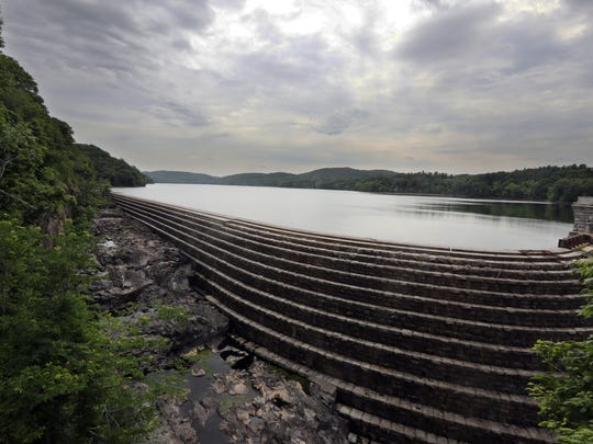 The Croton Reservoir at the Croton Dam, photographed June 27, 2018.