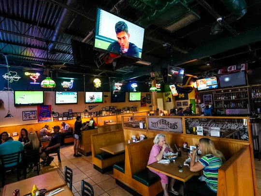 Punta Gorda Beef 'O' Brady's owner Chris Lansdale started