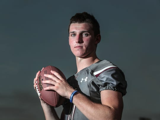 David Talley, football player for Rancho Mirage on