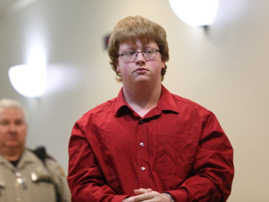 Marshall County High School suspected shooter Gabe Parker appeared in court Friday afternoon in Benton, Kentucky.